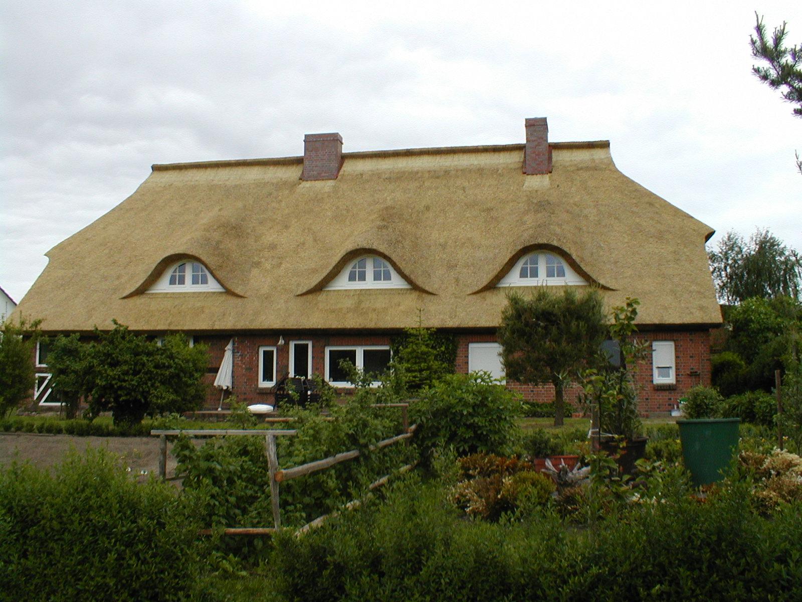 Reetdach für Bauernhaus